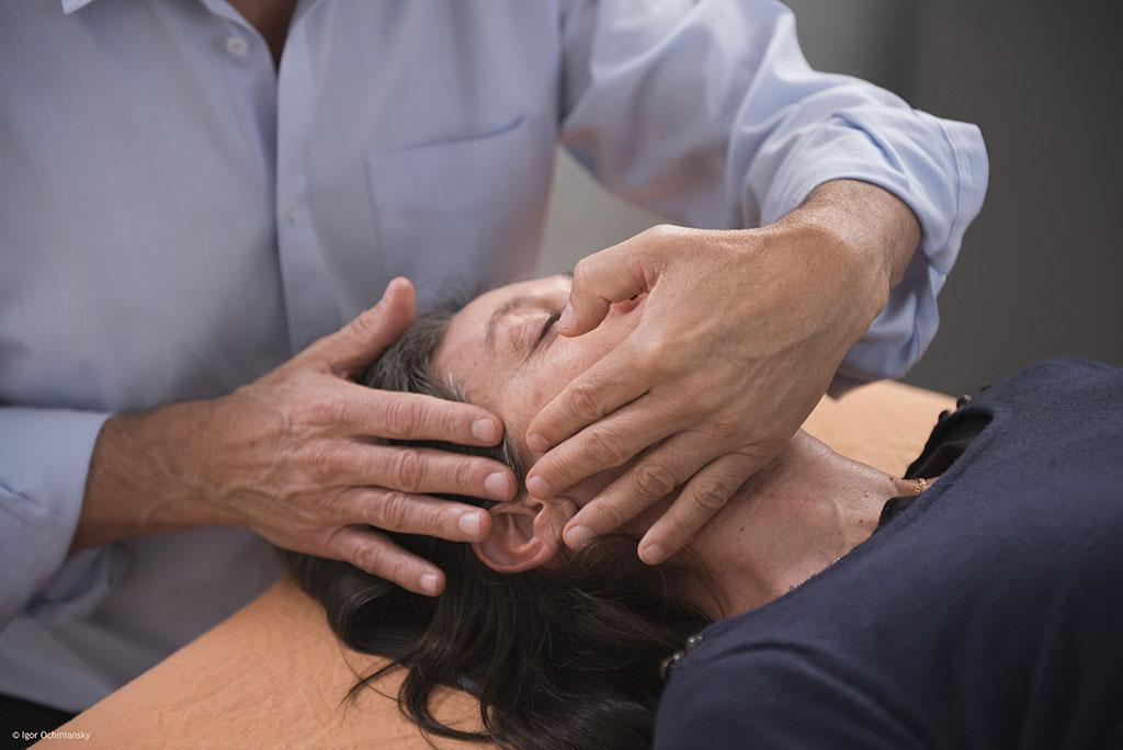 Séance fasciapulsologie